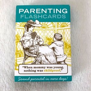 Parenting Flashcard Deck Game Humour Gag Gift